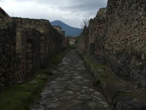 Pompeiani in fuga