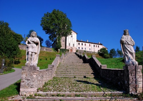 Feltre - Santuario di S.Vittore e S.Corona