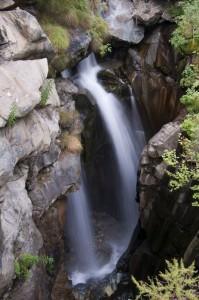 Cascata sull'orrido di Busserailles