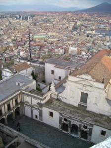 Panorama di Napoli dalla Certosa di S. Martino a Spaccanapoli