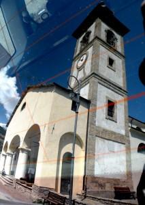 La Chiesa parrocchiale di Oulx.