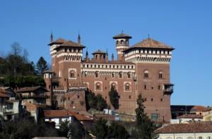 Torri e torrette del castello di Cereseto