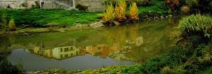 Nell'Arno il borgo di Capraia