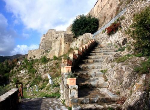 Salerno - scalinata Arechi II