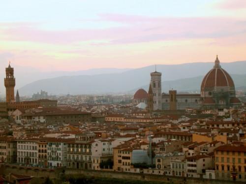 Firenze - il tramonto....