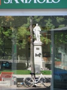 Garibaldi va in banca
