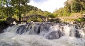 Cascata dei ponti romani