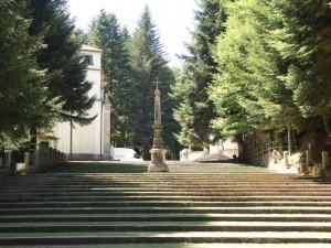 Una scalinata meditativa