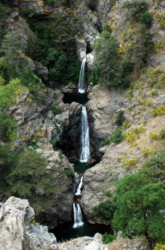 Roccaforte del Greco - La cascata Maesano