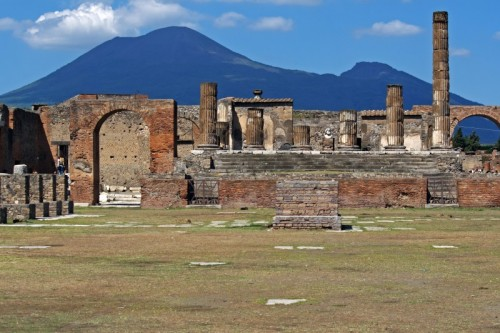 Pompei - Il Tempio di Giove