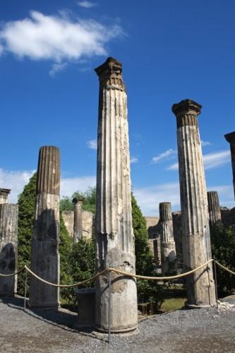 Pompei - Casa di Pansa: Peristilio