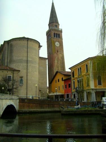 Portogruaro - Il Duomo e il campanile pendente