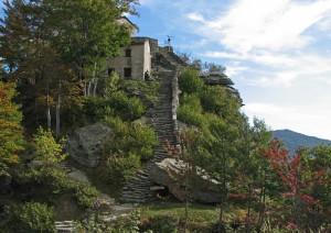 Scala di montagna, al santuario di S.Cristina