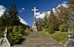 Al monumento della S. Croce