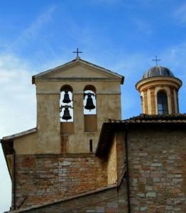 Il campanile della Parrocchia di Fiamenga