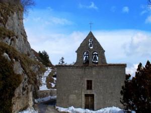 Il campanile della chiesetta del presepe