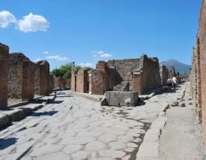 prospettive a pompei