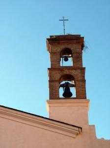 Il campanile del vecchio convento