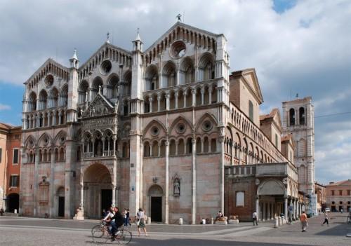 Ferrara - Tre cuspidi - Duomo di Ferrara