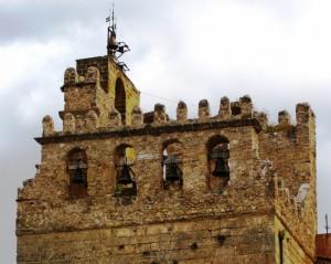 Il campanile del Duomo di Monreale