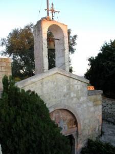 la vela della cripta del ss crocefisso