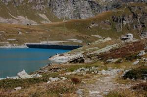 Diga,lago e Postazione