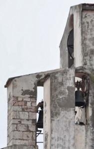Di nuovo i campanili a vela della Ch. Madre di Rignano Garganico (FG)