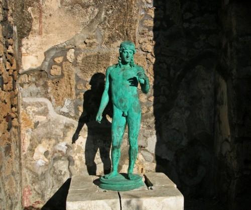 Pompei -  statuetta di Apollo