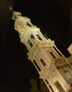 Il campanile con gli angeli