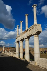 Al Foro dell'Antica Pompei