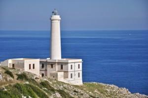 l'incontro dei mari Adriatico e Ionio sotto il Faro d'Otranto