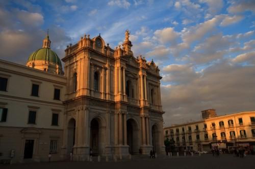 Pompei - E' ormai il tramonto... un'ultima foto e vado via!