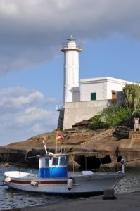 il faro del porto romano