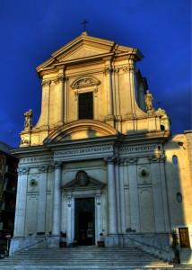 la Cattedrale di Civitavecchia
