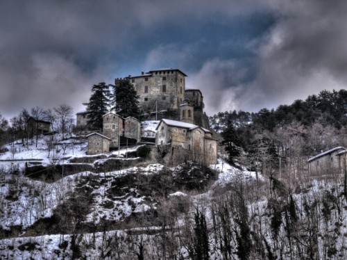Casaleggio Boiro - Il castello dell'innominato....