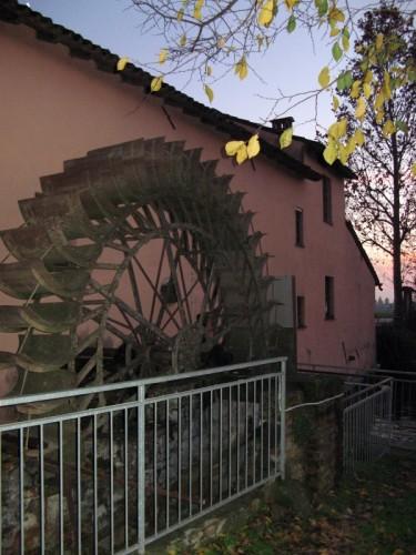 Madignano - Tramonto al mulino