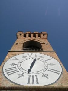 la torre del' orologio