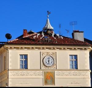 Orologio in Piazza Maggiore