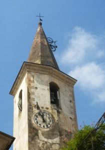 Il campanile, l'orologio e… la bicicletta!