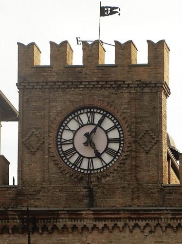 Fidenza - L'orologio della piazza