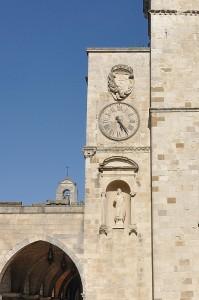 L'orologio della cattedrale.