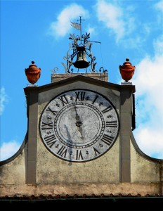 L'orologio della Villa Medicea