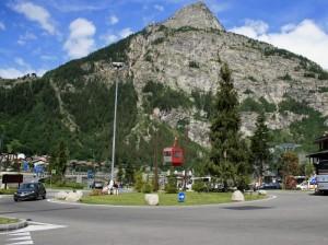 Un richiamo alla Funivia del Monte Bianco…