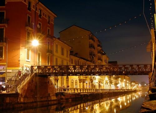 Milano - Luci sul ponte