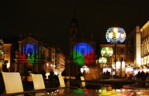 Atmosfera Natalizia in Piazza S. Carlo