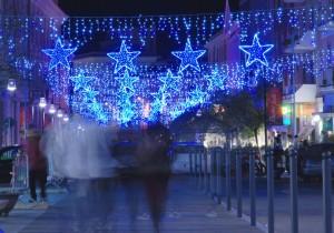 Passeggiando …sotto le stelle di Natale