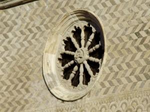 Rosone della chiesa di S. Eufemia a Teglio