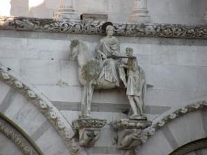 San Martino divide il suo mantello