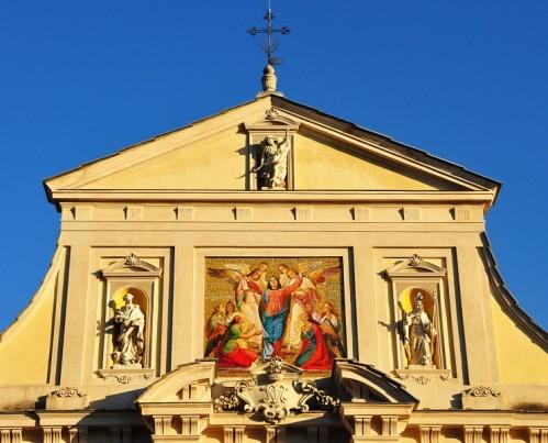 Serralunga di Crea - Santuario Madonna di Crea - Mosaico dell'Assunzione