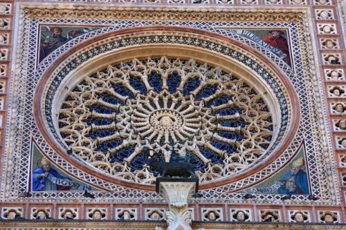 Orvieto - Rosone del Duomo